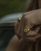 Wilhelmina Garcia - Gold Daisy Ring - Studio B Fashion