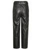 Gestuz.Black StoriaGZ Leather Pants.Leather Trousers.Studio B Fashion
