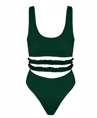 Georgia Mae Swimsuit Green