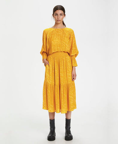 Gestuz Golden Yellow VanayaGZ Dress
