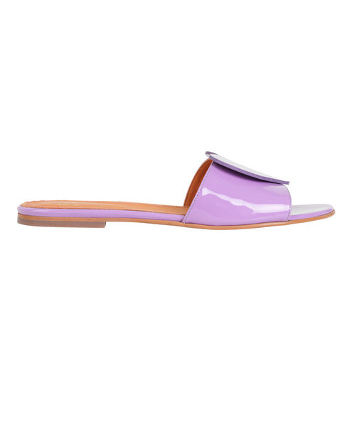 Stine Goya- Amina Sandals Malva Lilac Patent Leather -Studio B Fashion