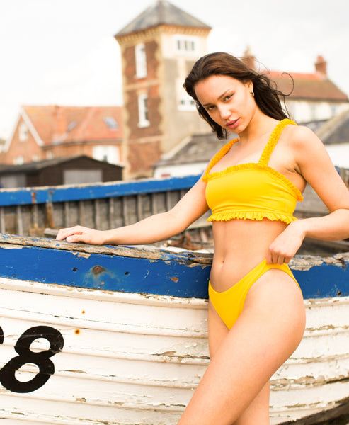 Kamba Swimwear - Lula II Bikini Top Mango at Studio B Fashion