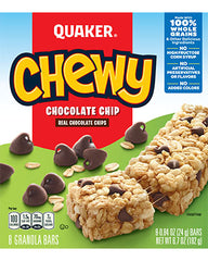 Quaker Chewy Chocolate Chip Bars