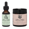 Bundle of The force shield elixir and Daily probiotic hearts