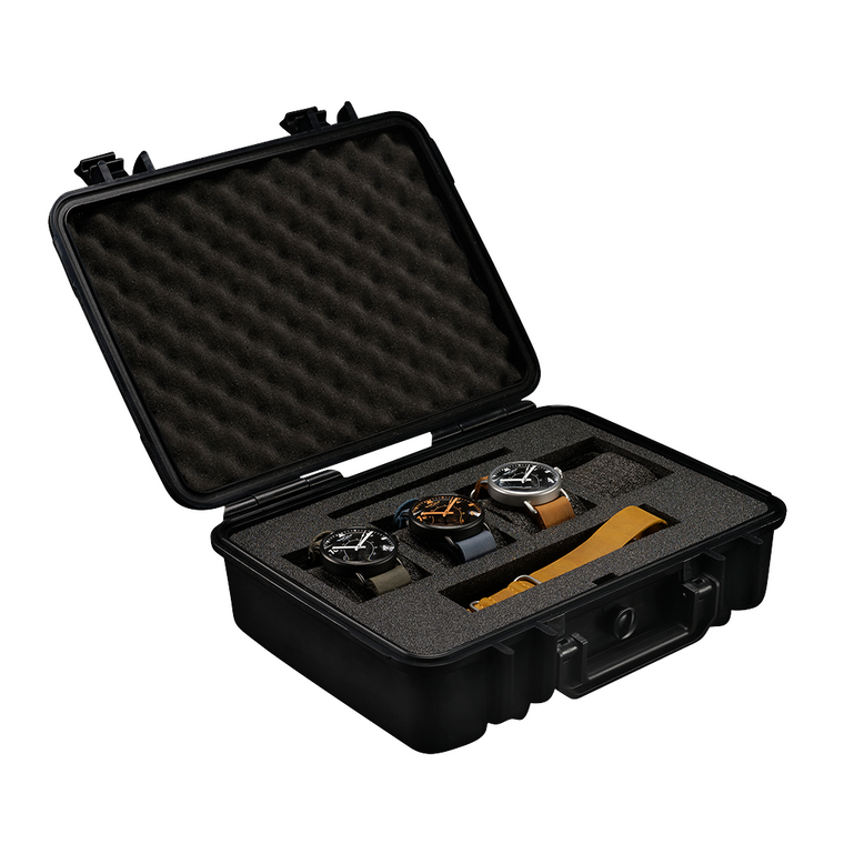 Waterproof 4 Watch Carrying Case