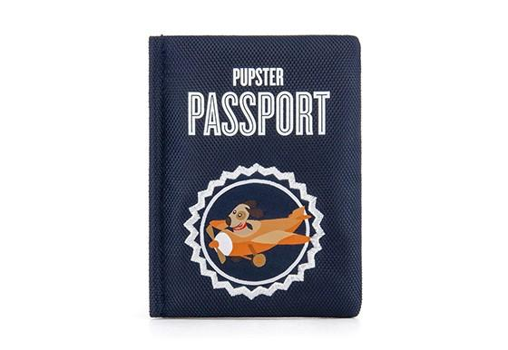 Passport Dog Toy
