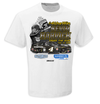 Kevin Harvick Checkered Flag 2019 Gander RV Duel 1 at Daytona Winner One-Hit T-Shirt - White