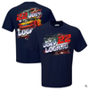 Joey Logano Team Penske Shell Pennzoil Patriotic T-Shirt - Navy