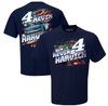 Kevin Harvick Stewart-Haas Racing Team Collection Busch Light Patriotic T-Shirt - Navy