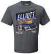 Chase Elliott 2020 NASCAR Cup Series Champion Vintage Car T-Shirt - Heather Charcoal