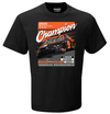 Chase Elliott 2020 NASCAR Cup Series Champion T-Shirt - Black