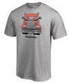 Clint Bowyer 2018 Monster Energy NASCAR Cup Series Playoffs Emoji T-Shirt – Heather Gray