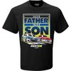 Chase + Bill Elliott - Family Champ T-Shirt - Black