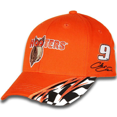 Chase Elliott #9 Hooters Racing 2018 NASCAR Element Adjustable Hat / Cap