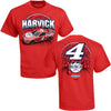 Kevin Harvick Busch Light Apple T-Shirt - Red - All Star