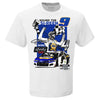 Chase Elliott 2020 Xfinity 500 Race Winner T-Shirt - White