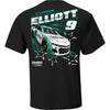 Chase Elliott Hendrick Motorsports All-Star 2-Spot T-Shirt - Black