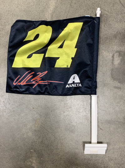 William Byron #24 Car Flag
