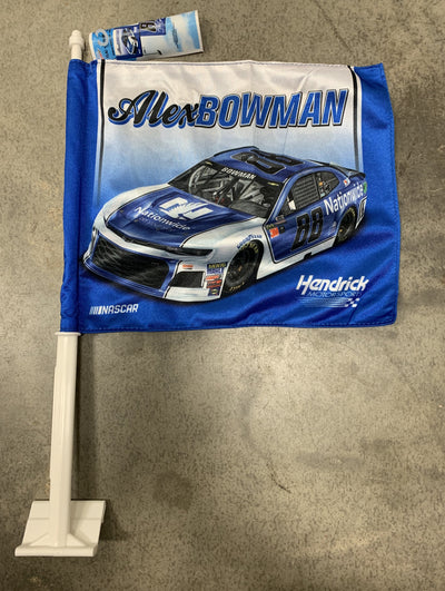 Alex Bowman Car Flag