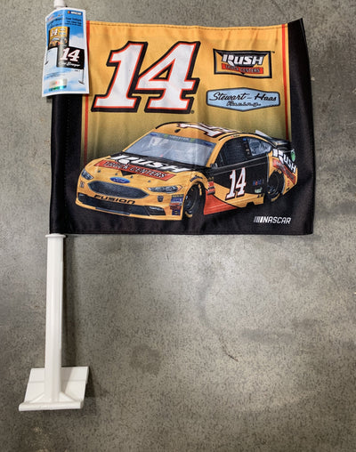 Clint Bowyer Car Flag