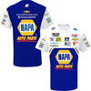 Chase Elliott 2020 NAPA Sublimated Pit Crew T-Shirt Blue