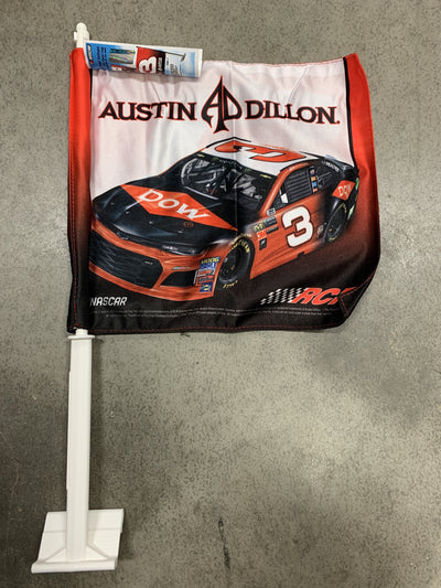 Austin Dillon Car Flag