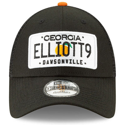 Chase Elliott New Era 9FORTY License Plate Trucker Adjustable Hat - Black