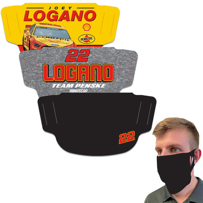 Joey Logano WinCraft Adult Face Covering - MADE IN USA