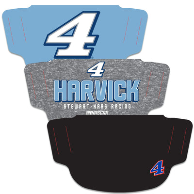 Kevin Harvick WinCraft Adult Face Covering 3-Pack - MADE IN USA