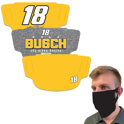 Kyle Busch WinCraft Adult Face Covering 3-Pack - MADE IN USA
