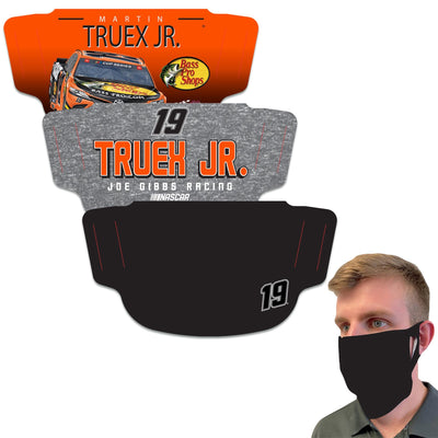 Martin Truex Jr WinCraft Adult Face Covering 3-Pack - MADE IN USA