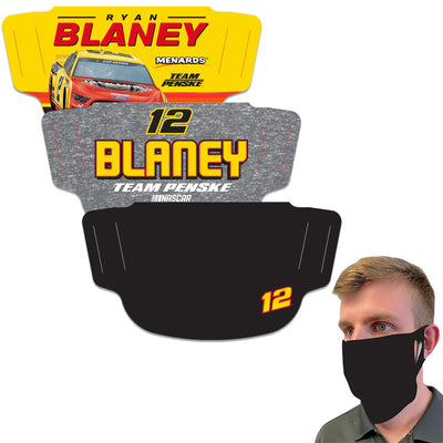 Ryan Blaney WinCraft Adult Face Covering - MADE IN USA