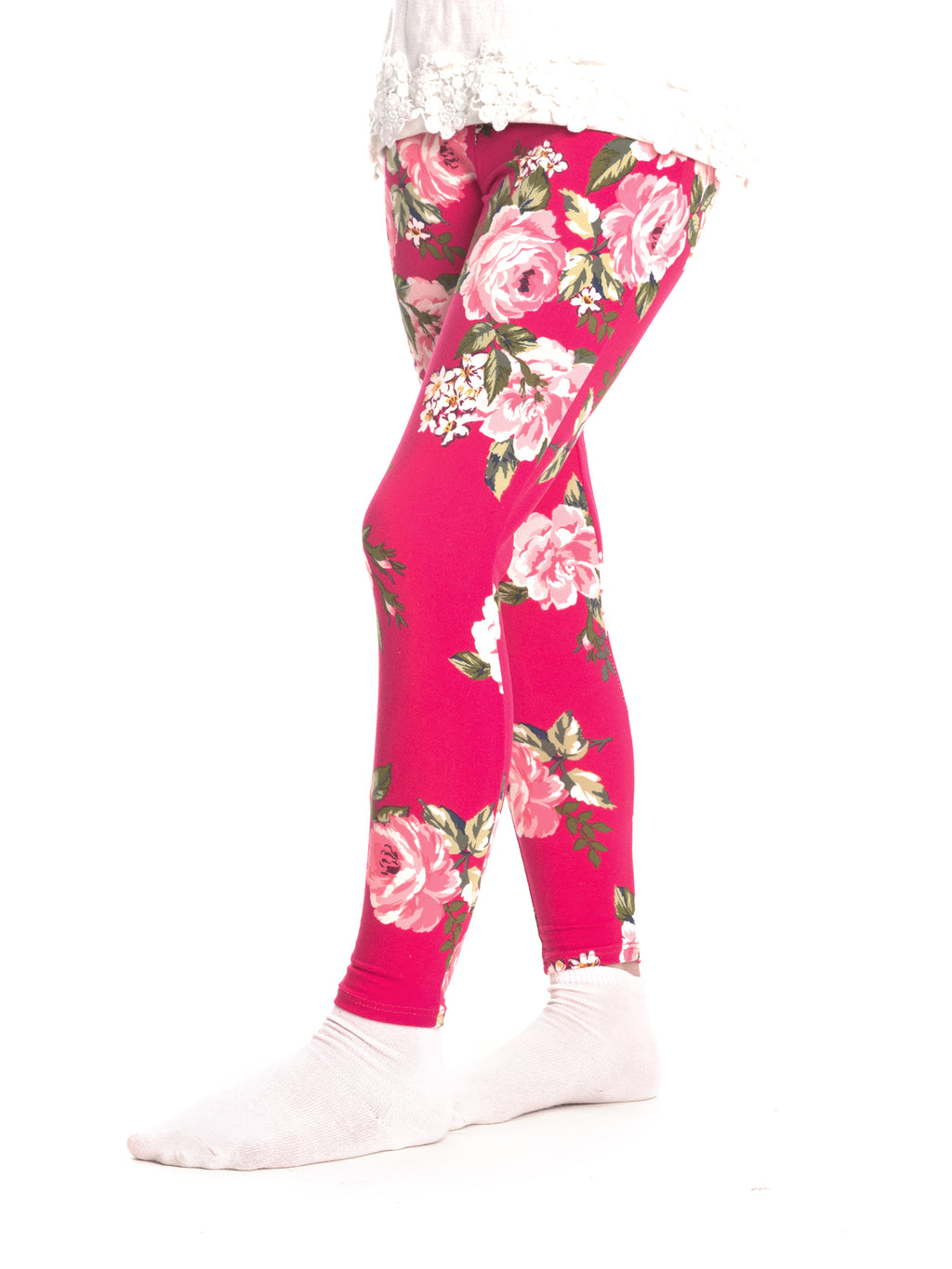 Blush Floral Leggings