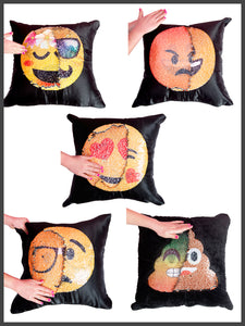 Magic Emoji Pillows