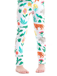 Jungle Flower Leggings
