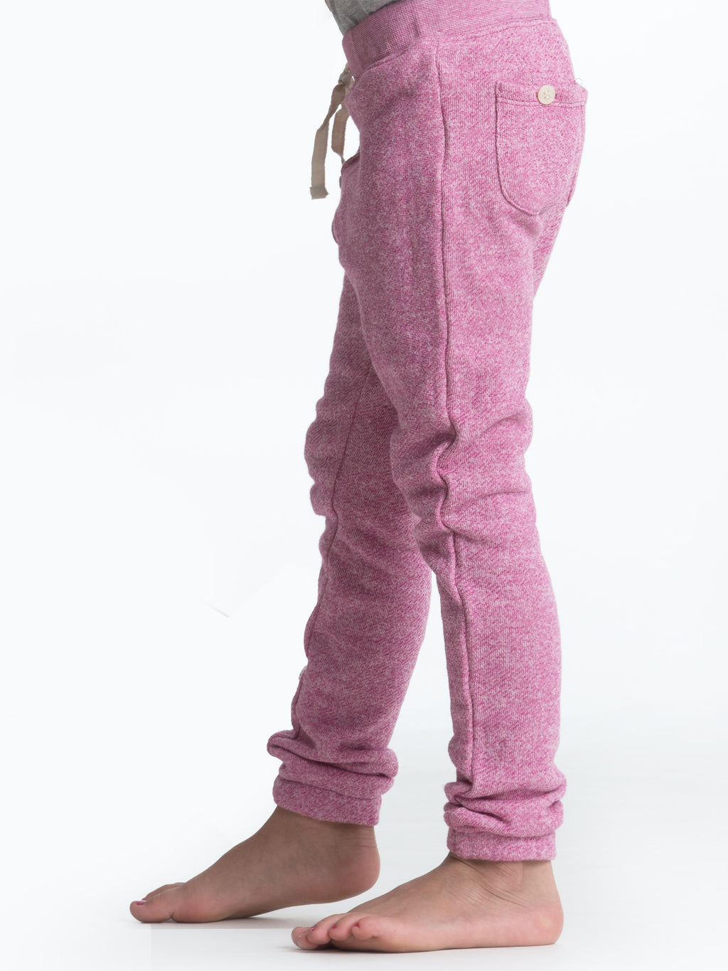 Jogger Pants - Pink Heather