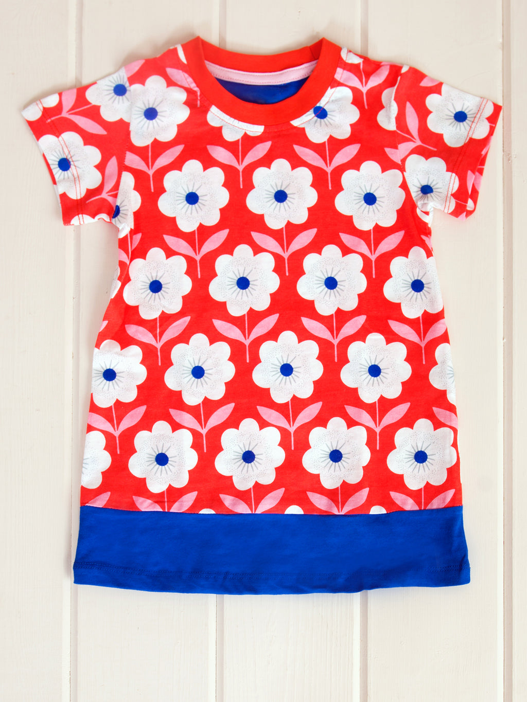 Retro Daisy Mini Dress or Tunic