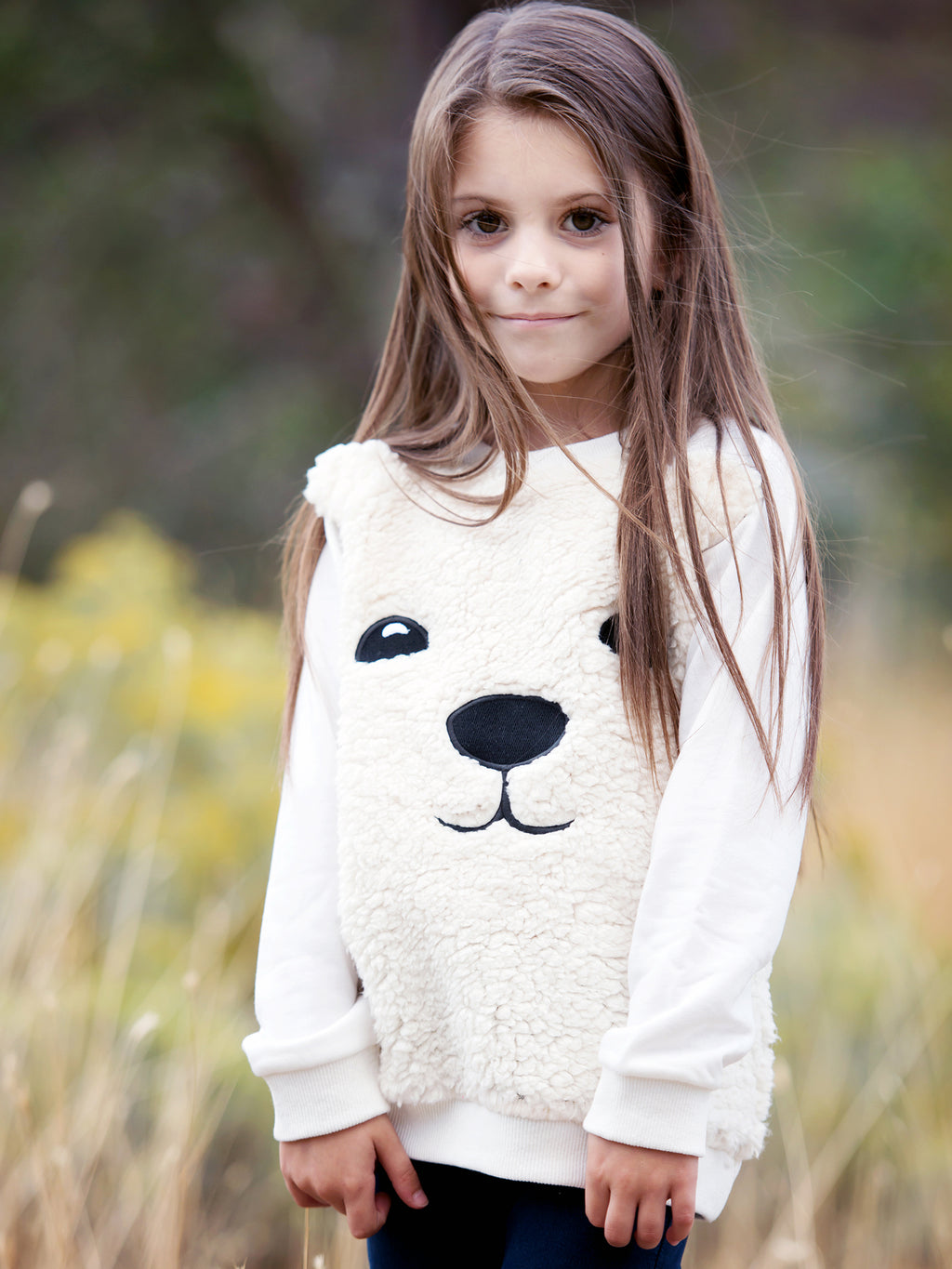 Teddy Bear Sherpa Sweatshirt