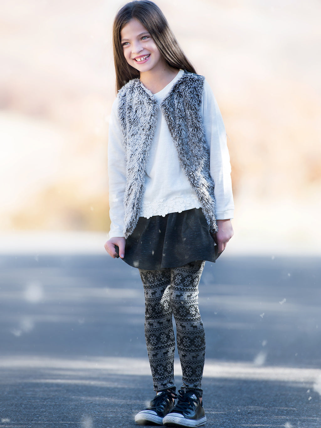Winter Leggings | Bubbles and Dirt