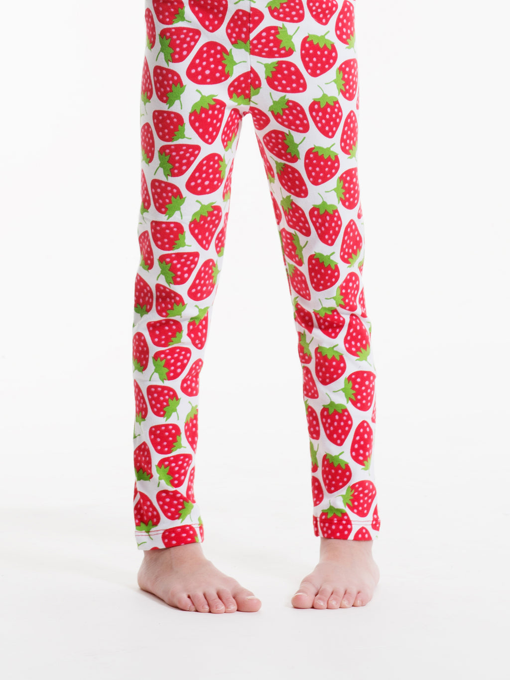 Summer Strawberry Leggings