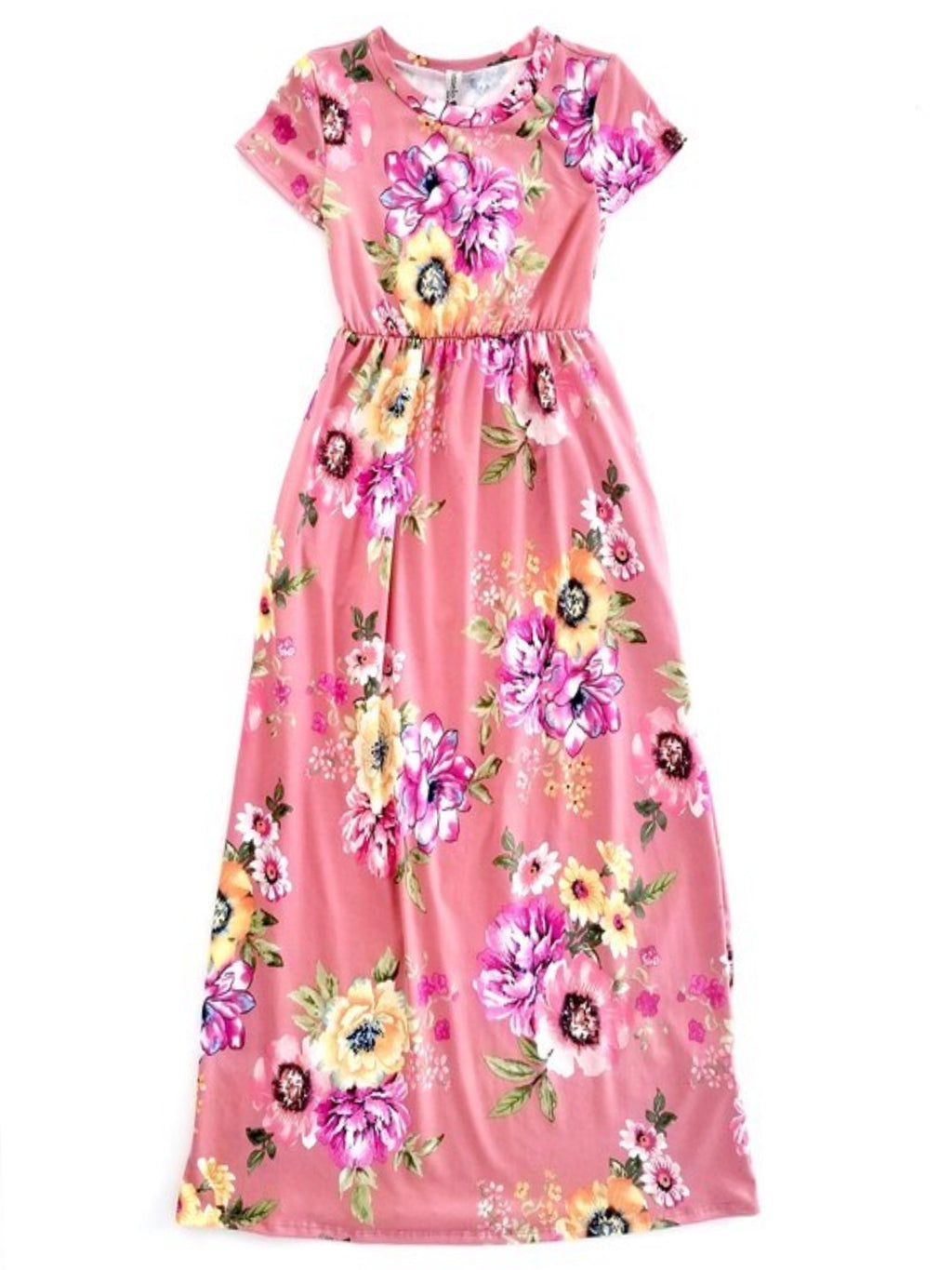 Waterlily Maxi Dress with Hidden Pockets