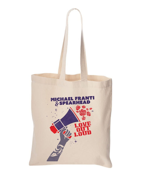 Michael Franti - Love Out Loud 2017 Tote