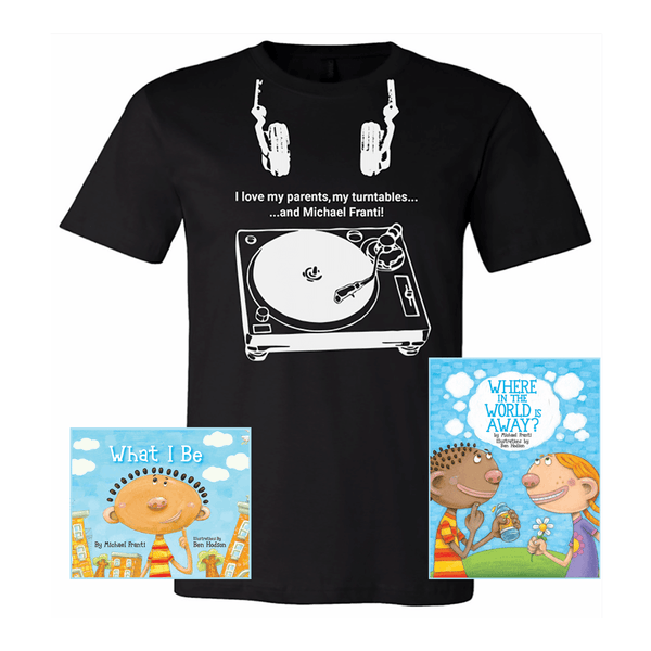 Little Rocker Book & T-Shirt Bundle