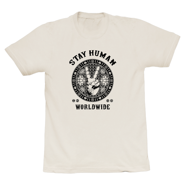 Michael Franti - Stay Human Worldwide Unisex T-Shirt