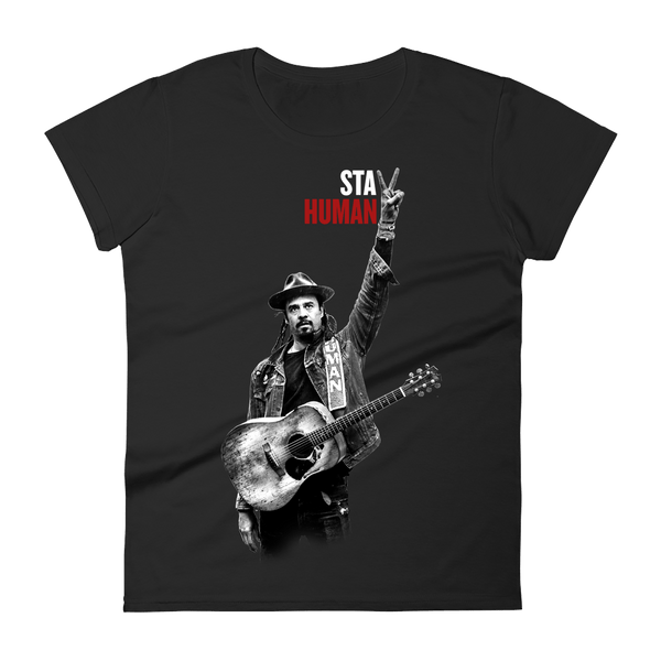 Michael Franti - 2018 Tour Ladies Cut T-Shirt