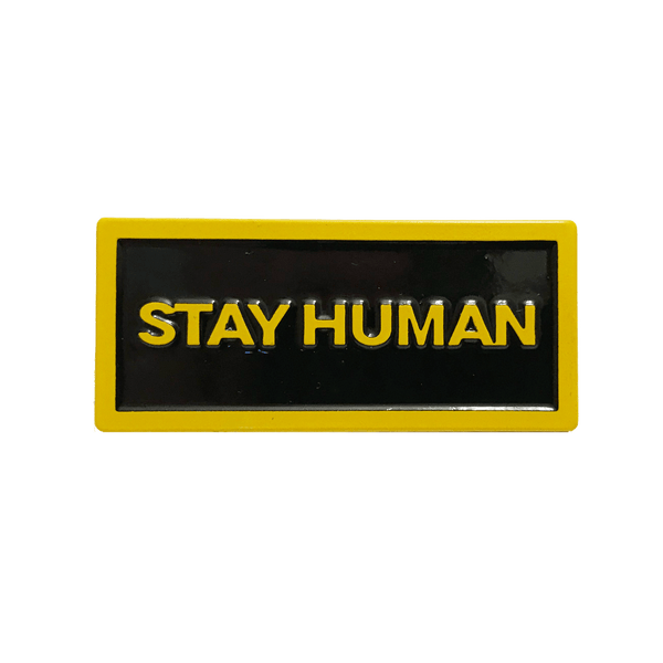 Michael Franti - Stay Human Pin