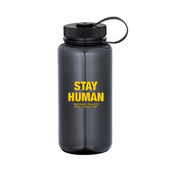 Michael Franti - Stay Human Water Bottle