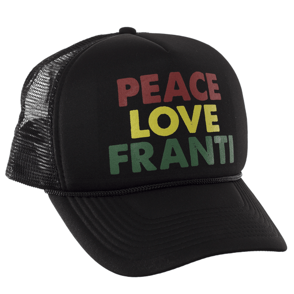 Michael Franti - Peace Love Trucker Hat