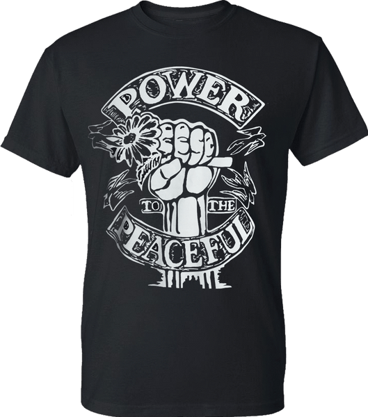 Michael Franti - Power To The Peaceful Unisex T-Shirt