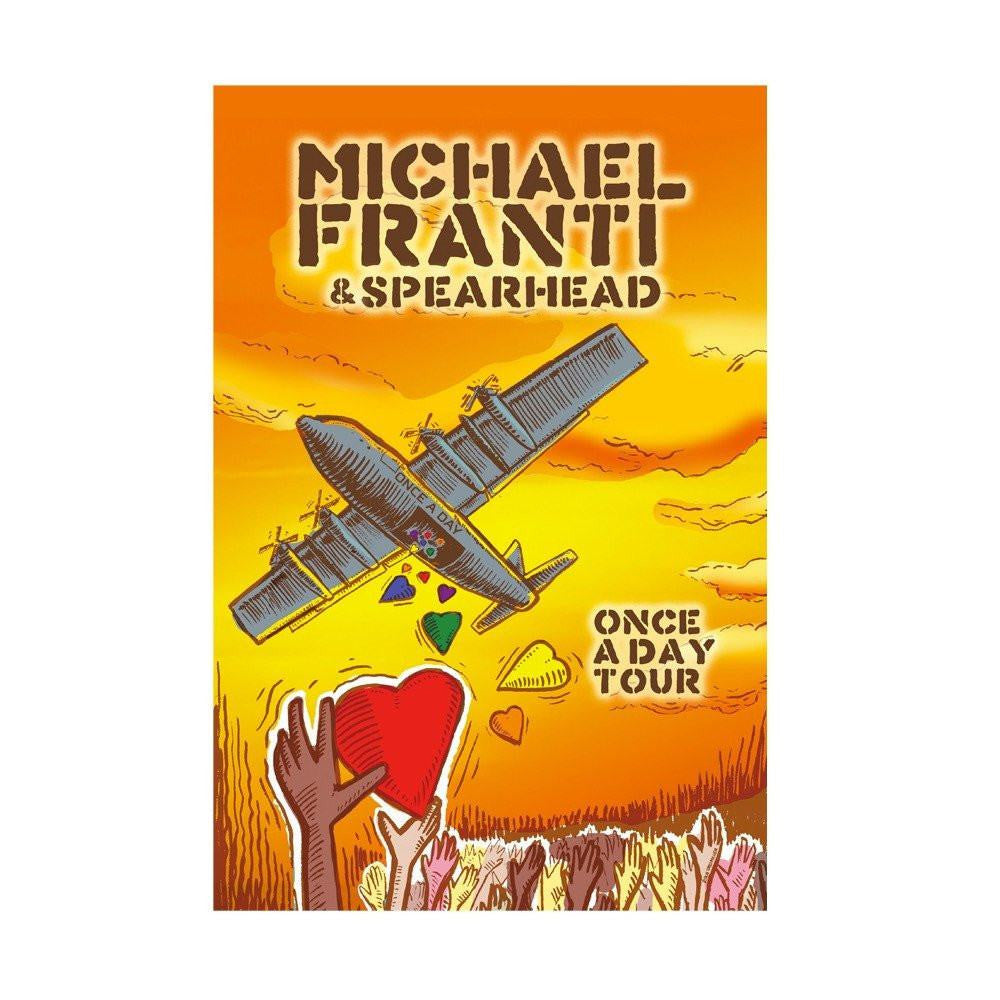 Michael Franti - Once A Day Tour Poster